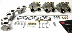 WEBER 40 DCOE CARBURETTOR CONVERSION KIT FOR MGC 3.0L SERIES