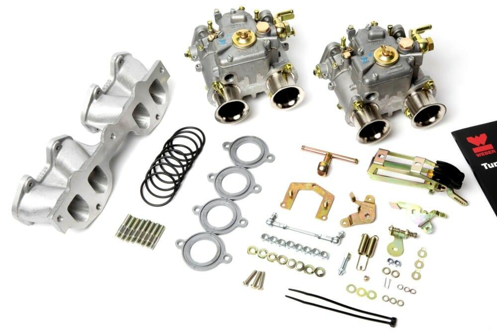 Weber 40 Dcoe Carburettor Conversion Kit For Peugeot 205 1 6  U0026 1 9l Engine