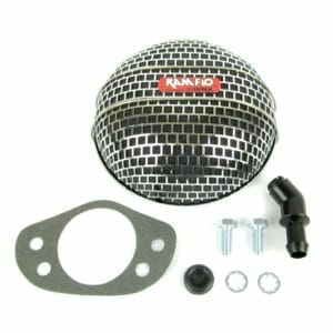 SU HD8, HS8 & H8 2 '' CARBURETTOR RAMFLO AIR FILTER / CLEANER ASSEMBLY E-TYPE 3.8 & 4.2 1963-68