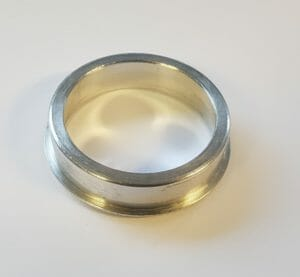 WEBER 34 ICH CARBURETTOR AIR FILTER/CLEANER ADAPTOR RING (ENLARGES DIAMETER)