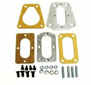 WEBER CARBURETTOR MANIFOLD CONVERSION ADAPTER PLATE KIT VIR NISSAN TERRANO Z24i
