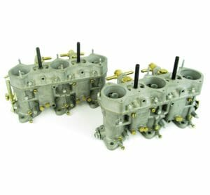 ORIGINAL ITALIAN MADE WEBER 40 IDA3C CARBURETTORS FOR PORSCHE 911 (PAIR)