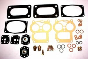 SOLEX 32 PAIA CARBURETTOR SERVICE / GASKET KIT (SUNBEAM / HILLMAN ETC ..)