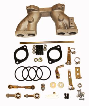 MG MIDGET & SPITFIRE 1500 INTAKE MANIFOLD KIT FOR WEBER DCOE/DELLORTO DHLA