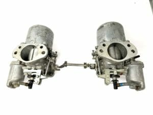 PAIR OF SU HS8 2'' CARBURETTORS FOR SALE - JAGUAR XJ6 3441cc