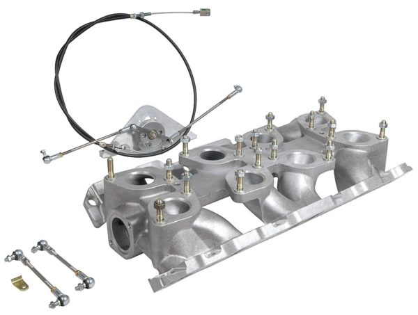 WEBER IDF CARBURETTOR CONVERSION MANIFOLD FOR ROVER V8 ENGINE
