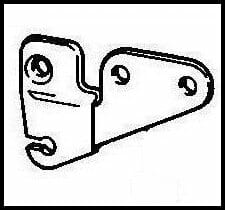 PHM External linkage bracket L/H*Discontinued*