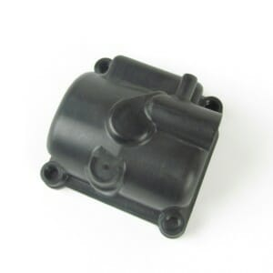 13750 PHBGフロートボウル-ドレーンプラグ機能付きの黒いプラスチック