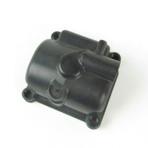 13750 PHBG-vlotterbak - zwart kunststof met aftapplug