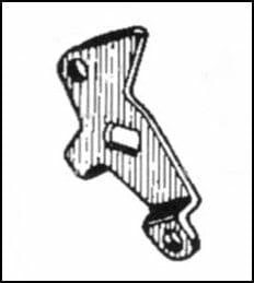 Οδοντωτός μοχλός ελέγχου τομέα