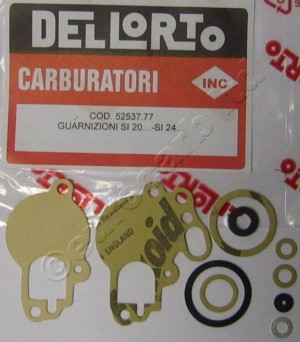 52537 gasket set Dellorto SI 17 - 24 mm