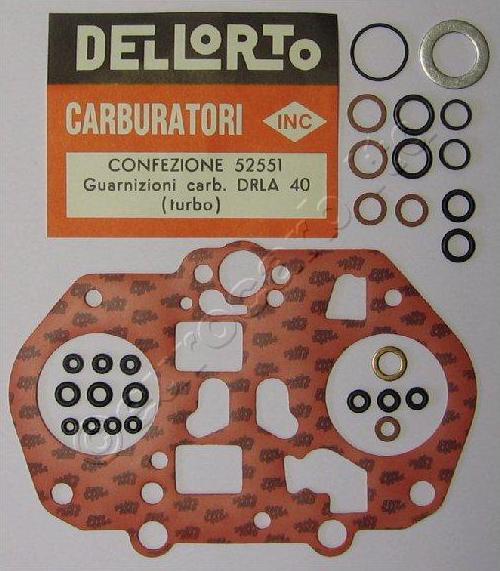 DRLA 40 комплект турбо уплътнения