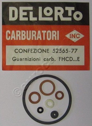 Dellorto FHCD - E Gasket set - use 52567