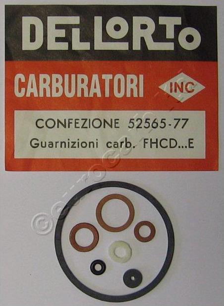 """""""Dellorto FHCD - E"""" tarpiklių rinkinys - naudokite """"52567"""""""