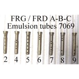 7069 FRG, FRD, FRDA / B / C Tubo de emulsio