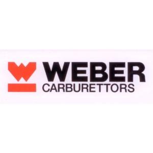 4 x 11cm Weber Vinyl pegatina