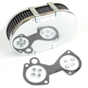 Вебера / Dellorto / SOLEX DCOE / ДГЛК / ADDHE паветраны фільтр / фільтр у зборы (45mm Дып)