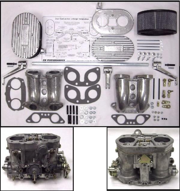 VWK29 4 típusú iker Dellorto DRLA36 készlet - CB-Performance