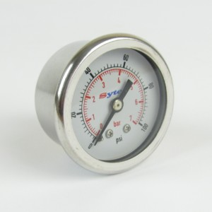 Fuel pressure gauge 0 - 100 psi