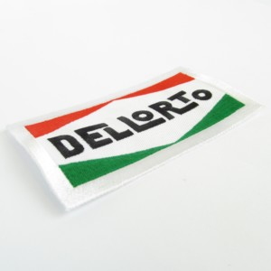 Dellorto logo sew-on patch