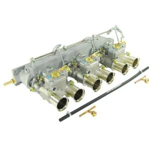 JAGUAR 3.8 / 4.2 E-TYPE 6CYL ENGINE TRIPLE WEBER 45 DCOE карга КИТ