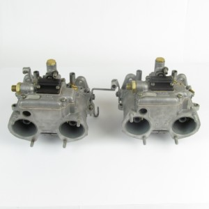 Dellorto DHLA45 D Tri-jet carburettors - Reconditioned