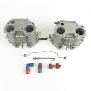Dellorto DHLA40H Turbo Carbs Lotus - адноўлены