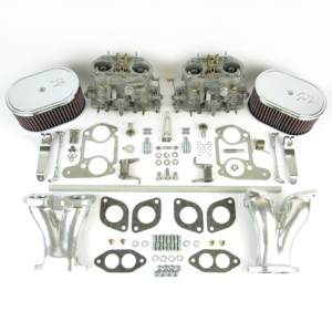 VWK11 Type 1 twin Dellorto DRLA36 kit - CSP & K&N