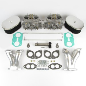 VWK31 Type 1 twin Dellorto DRLA40 kit – CSP bellcrank