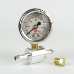 WFR151KIT  Webcon Fuel Pressure Gauge - 1-8 bar with in line adaptor