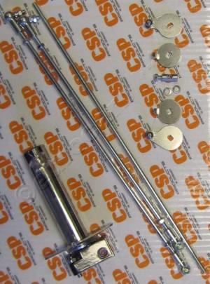 Kit de articulación de manivela tipo campana Weber IDA tipo 1 - CSP