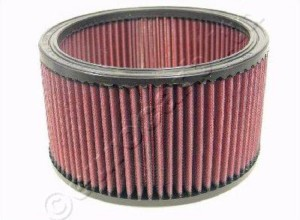E3470 K&N filter large oval or round  element 115mm deep
