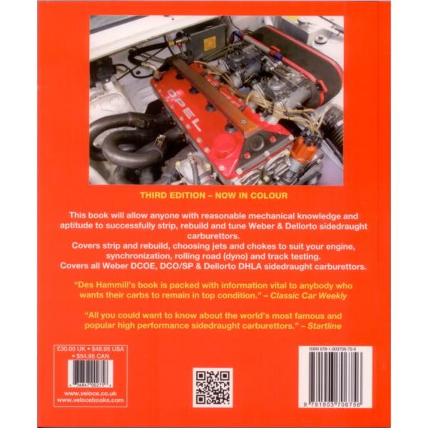 HOW TO BUILD & POWER-TUNE WEBER & DELLORTO DCOE/DCO/SP/DHLA TWIN CARBS BOOK