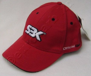 SBK Red Baseball Cap