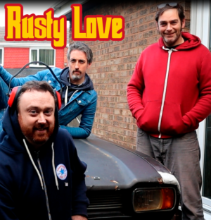 Mano, Paul, Gavin & Kate - CD med Rusty Love Music - Några av våra låtar