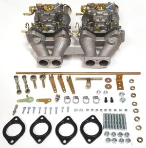 MG MIDGET & SPITFIRE 1500cc 2 X WEBER 40 DCOE CARBURETTOR CONVERSION KIT
