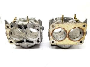 Pair of WEBER 40 DCNF carburettor castings