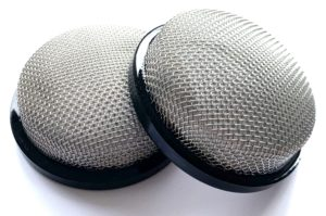 Mesh Filters to suit WEBER 48 IDA and other carburettors fitted with 70mm stacks/Trumpets