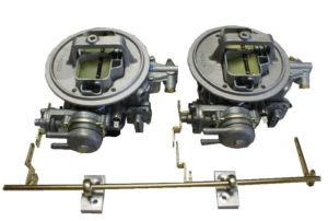 BMW 2.5 / 2.8 / 3.0L BAVARIA x 2 WEBER 38 KIT DI CONVERSIONE DI CARBURETTORE DGAS