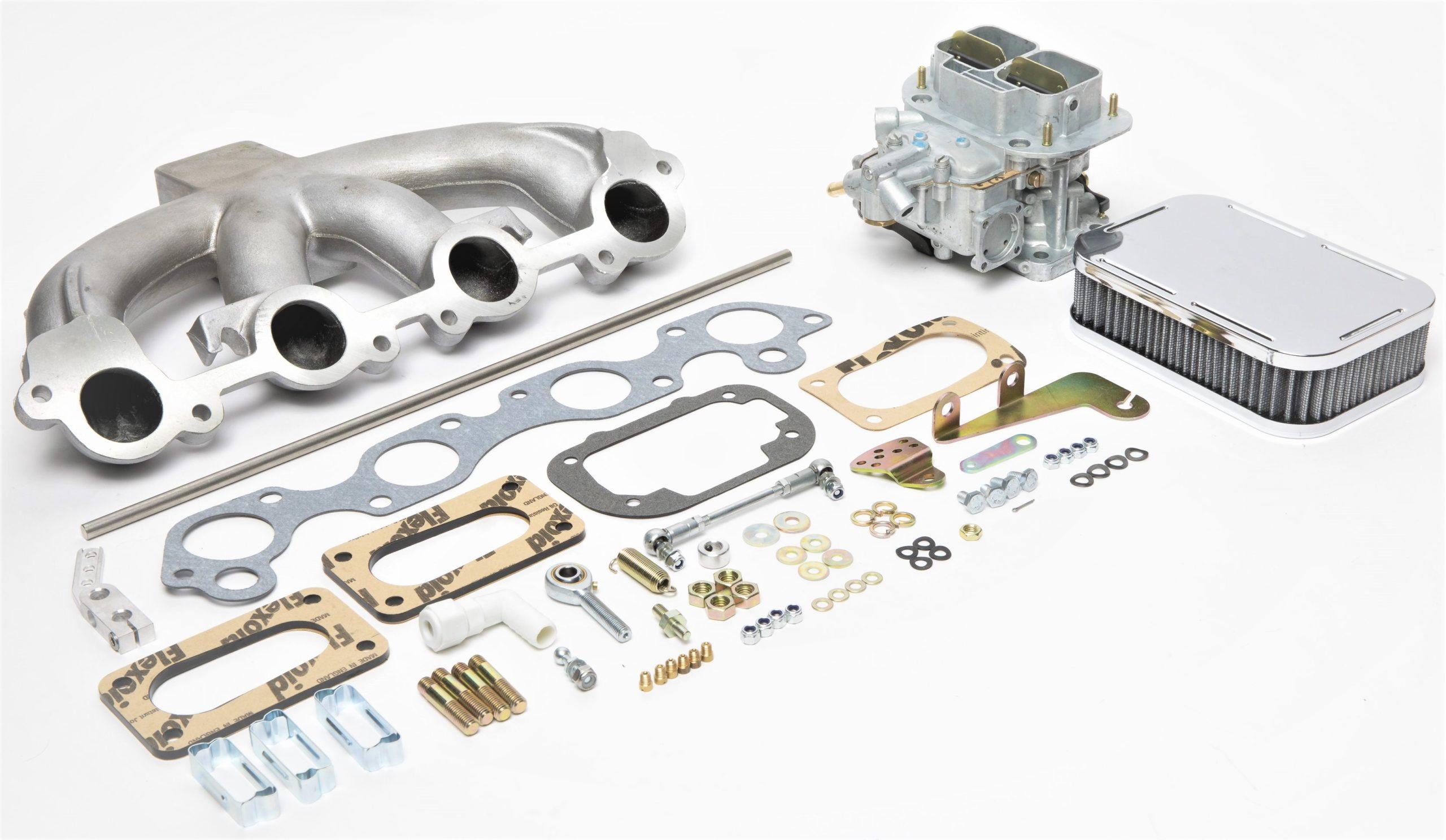 Volvo B21    B23 Weber 32  36 Dgv Carburettor Conversion Kit