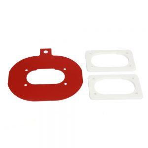Placa base del filtre d'aire ITG 4JC20 - Weber 28/36 DCD, DCB, DCHD. Solex 34 PAIA, 35 SDID.