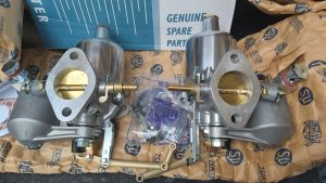 SU H4 карбюраторлорун бириктиргичтери, кабелдик пин жана фланецтик прокладкалар менен жупташтырыңыз
