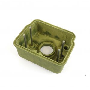10425 Magnesium float bowl for individual floats