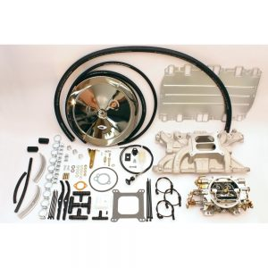 17900.238 Rover V8 3.5 / 3.9L 4 баррель WEBER EDELBROCK карбюратору жана коллектору