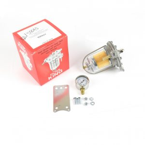 Malpassi Filter King regulator tlaka 85mm prozirna staklena posuda s mjeračem