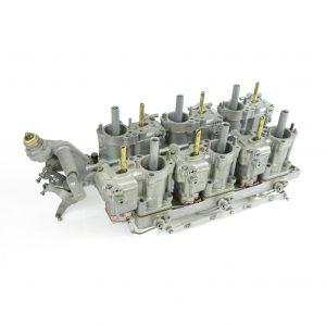 Sada repasovaných karburátorů Dellorto FRPA40 Alfa V6