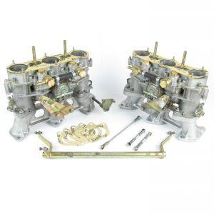 מקורי איטליאן וובר 40 IDA3C קרבורטים עבור פורשה 911 (PAIR)
