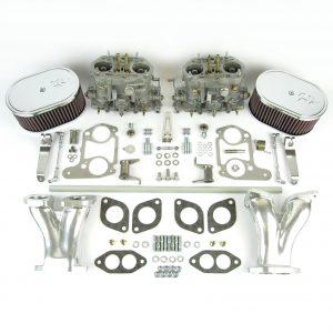 VWK11 Tipo 1-ĝemelo Dellorto DRLA36-ilaro - CSP & K&N