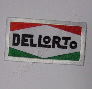 Dellorto-logo påsydd patch