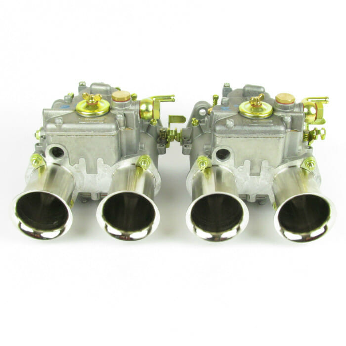 GENUINE PAIR OF WEBER 45 DCOE 152 'G' CARBURETTORS (4x PROGRESSION HOLE TYPE)